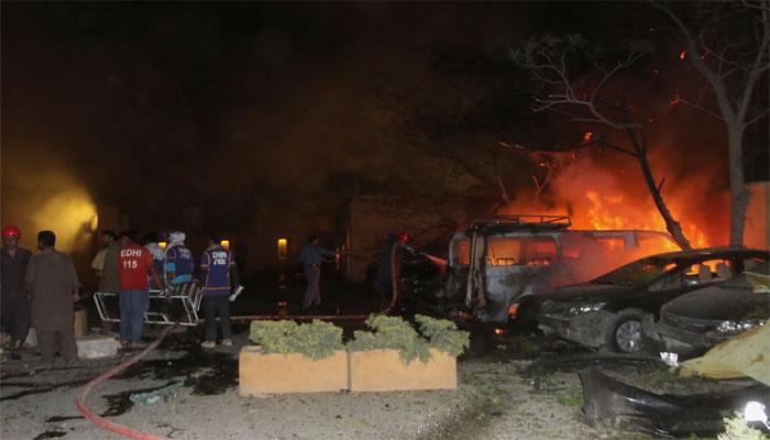 کوئٹہ میں دہشت گرد حملے کی مذمت کرتے ہیں،  چینی سفارتخانہ