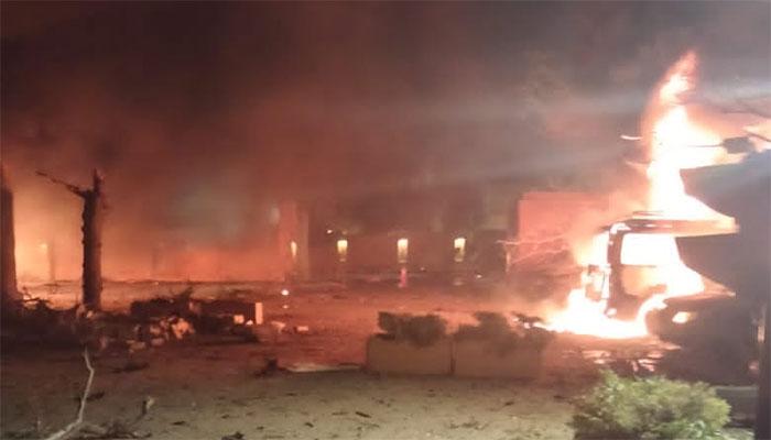 کوئٹہ :دھماکے میں 60 کلو سے زائد دھماکا خیز مواد استعمال کیا گیا،پولیس حکام