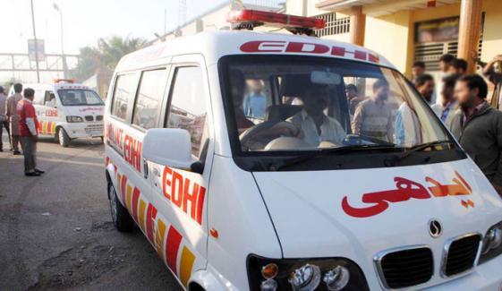 کراچی:حادثے اور فائرنگ سے 6 افراد زخمی
