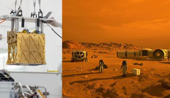 مریخ، ناسا نے کاربن ڈائی آکسائیڈ کو آکسیجن میں بدل دیا
