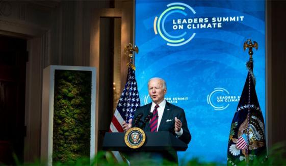 ماحولیاتی کانفرنس کا آغاز، صدر بائیڈن کا گرین ہاؤس گیسز کے اخراج میں کمی کا اعلان