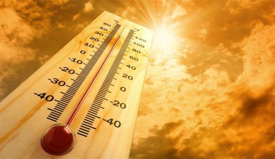 کراچی میں گرمی کی شدت میں اضافے کا امکان