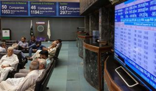 پی ایس ایکس 100 انڈیکس میں 376 پوائنٹس کی کمی