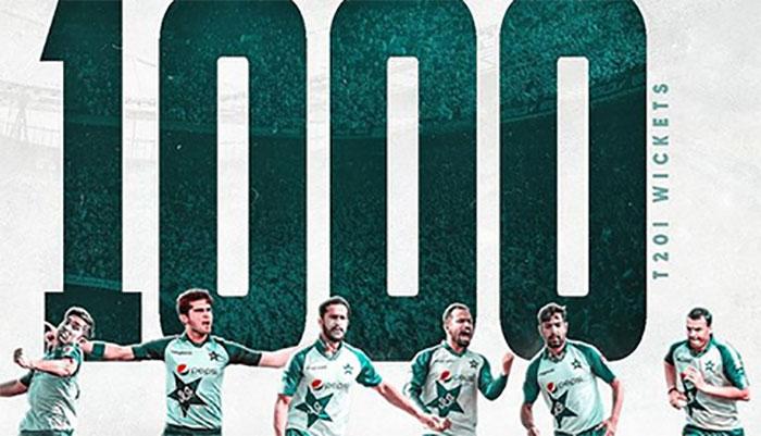 پاکستان کرکٹ ٹیم ٹی ٹوئینٹی میں ایک اور ریکارڈ اپنے نام کرنے میں کامیاب