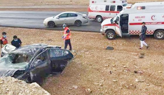 سعودی عرب میں 2 مختلف کار حادثات میں 5 افراد جاں بحق
