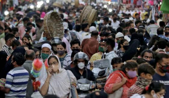 بھارت میں مسلسل دوسرے روز3 لاکھ سے زائد کورونا کیسز ریکارڈ