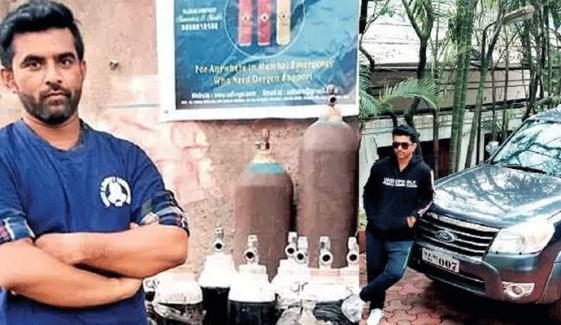 بھارت: مسلم نوجوان 'آکسیجن مین' بن گیا