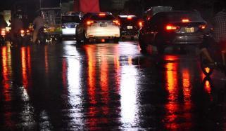 پنجاب کے مختلف شہروں میں گرج چمک کے ساتھ بارش