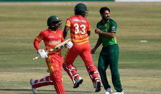 پاکستان کو جیت کیلئے 119 رنز کا ہدف