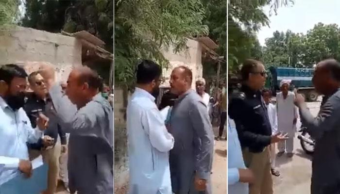 کراچی: پولیس کے ساتھ تلخ کلامی کرنیوالے نے معافی مانگ لی