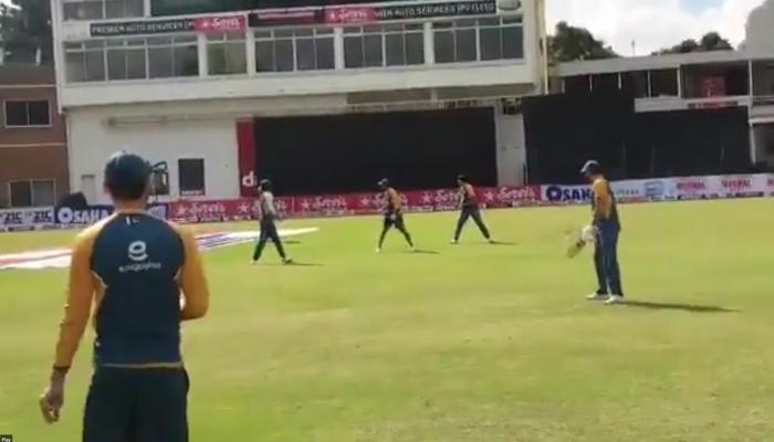 پاکستان ٹیم کا زمبابوے کے خلاف ٹیسٹ سیریز کی تیاریوں کا آغاز