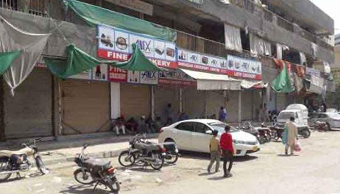 کراچی، کورنگی کی3 یوسیز میں مائیکرو اسمارٹ لاک ڈاؤن