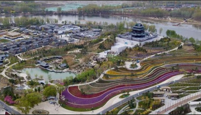 چین میں انٹرنیشنل گارڈن فیسٹول کا آغاز