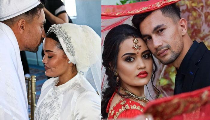 نومسلم جنوبی افریقی کرکٹر کی شادی کی تصاویر سوشل میڈیا پر وائرل