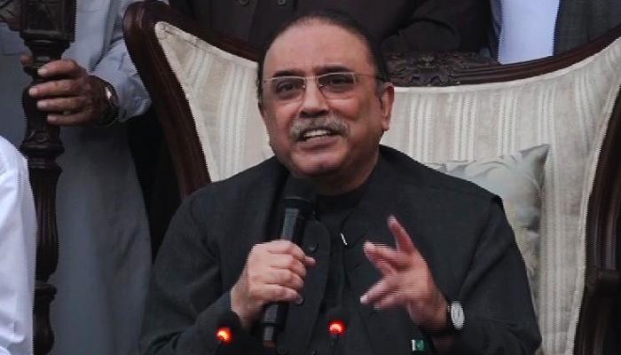 عبدالقادر مندوخیل کی جیت پیپلزپارٹی پر عوام کا اعتماد ہے ،آصف زرداری