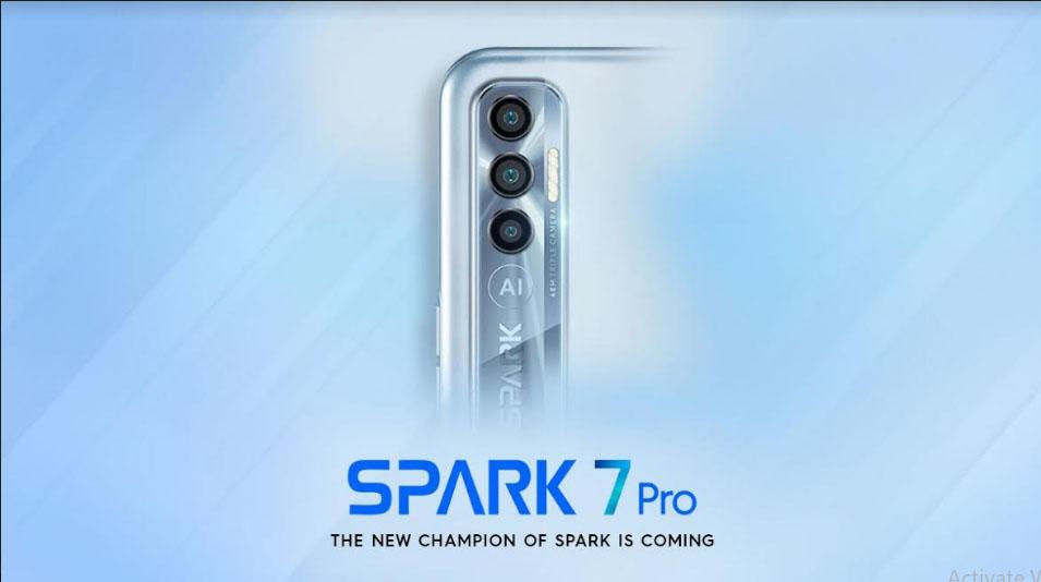 ٹیکنو موبائل کی جانب سے Spark 7Pro کے لانچ کا اعلان، صارفین کے لئے بیشمار آفرز اور ڈسکائونٹ