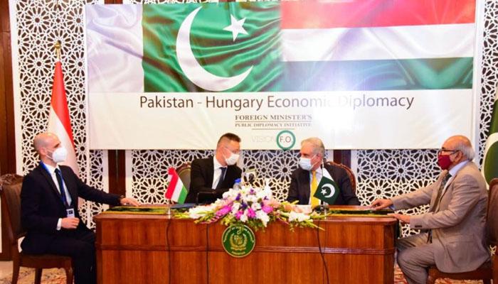 پاکستان اور ہنگری کے درمیان تعلیمی شعبے میں معاونت کے ایم او یو پر دستخط