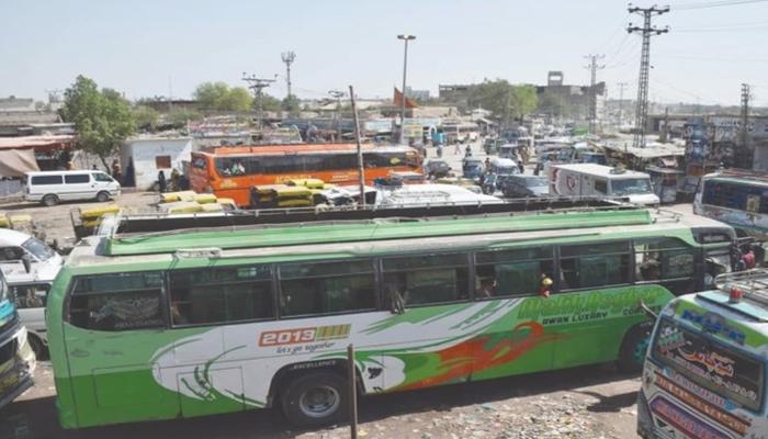 کورونا ضوابط کی خلاف ورزی، سندھ حکومت نے58 مسافر گاڑیاں پکڑلی
