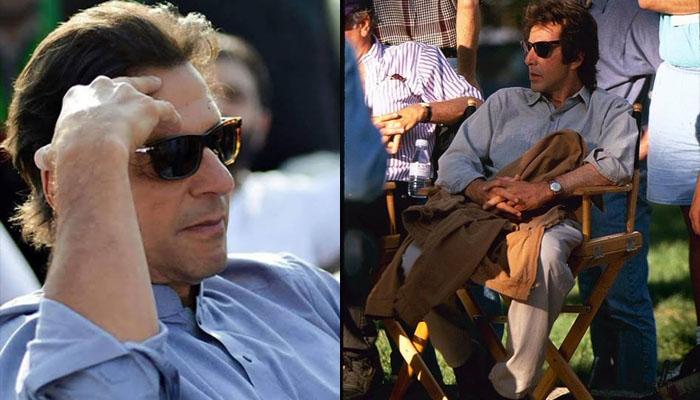 عمران خان اور امریکی اداکار کی مشابہت کے چرچے