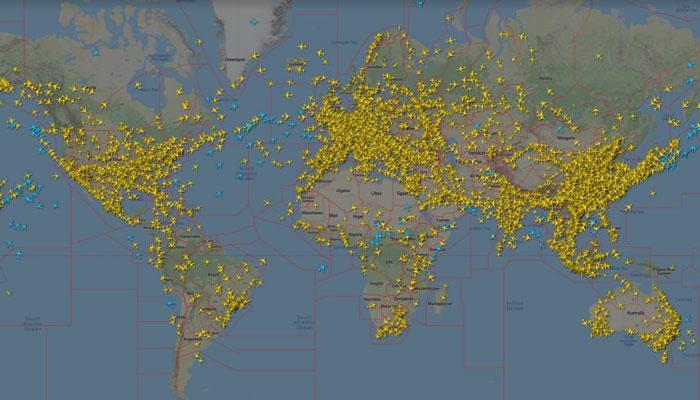 کمرشل ہوائی ٹریفک میں 3 مئی 2020 کی نسبت 269 فیصد بہتری