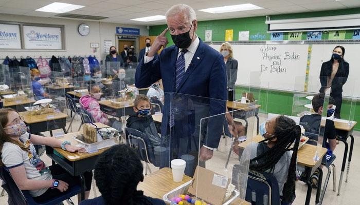 امریکی صدر کو بچوں نے آن لائن کلاسز کی شرارتیں بتادیں