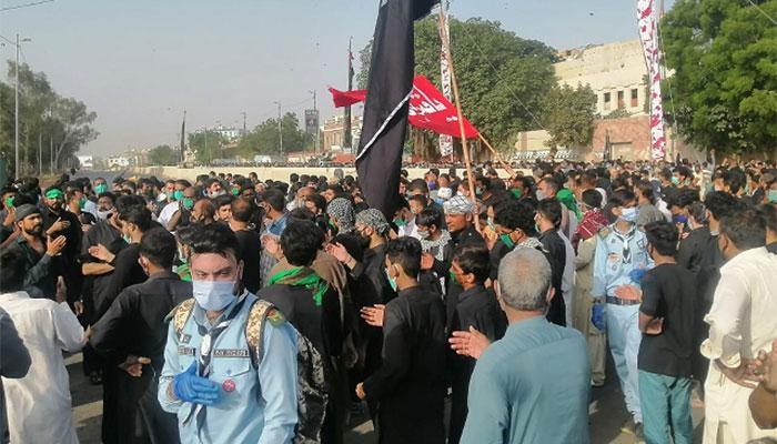 کراچی: یومِ علیؓ کا جلوس برآمد