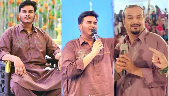 امجد صابری کے بیٹے کے والد کے کلام پڑھتے ویڈیوز مقبول