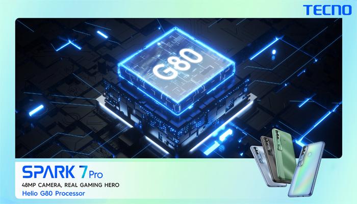ٹیکنو موبائل نے گیمنگ بیسٹ Spark 7Pro لانچ کردیا، Saamaan.pk پر شاندار سیل ریکارڈ قائم