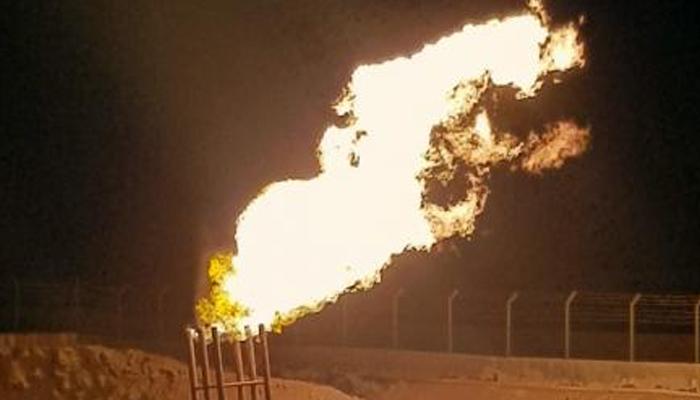 شاہ بندر بلاک سے قدری گیس کی پیداوار کا اعلان