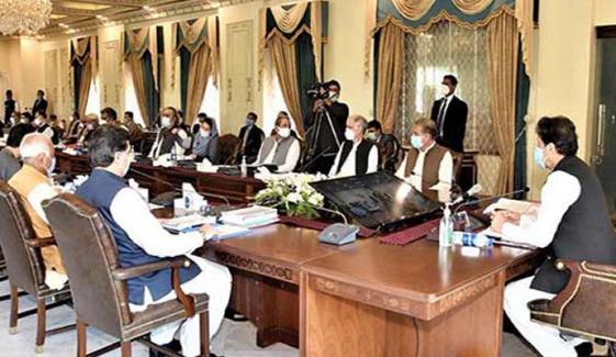 کابینہ نے انتخابی اصلاحات سے متعلق 2 آرڈیننس منظور کرلیے