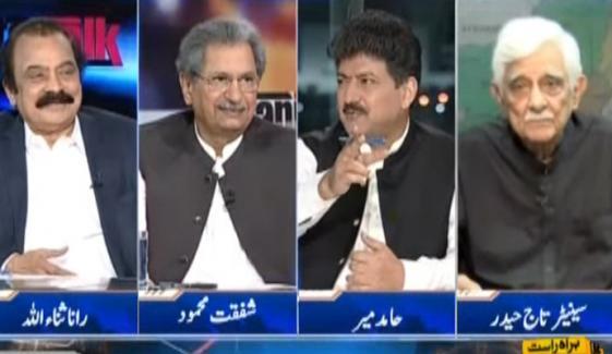 انتخابی اصلاحات پر تاج حیدر، شفقت محمود اور رانا ثنا اللّٰہ کی رائے