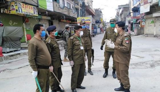 راولپنڈی، فیصل آباد، لیہ کے متعدد علاقوں میں اسمارٹ لاک ڈاؤن