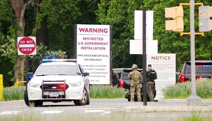 سی آئی اے ہیڈکوارٹرز میں گھسنے کی کوشش کرنے والا مسلح شخص ہلاک