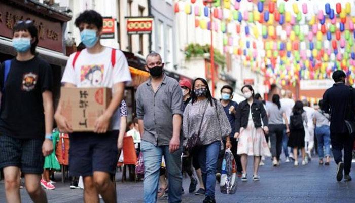 برطانیہ میں کورونا وائرس کی صورتحال میں بہتری