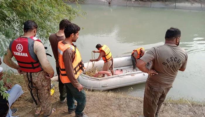 فیصل آباد؛ 4 بچوں کو نہرمیں پھینکنے والے ملزم کے بھائی کا بیان