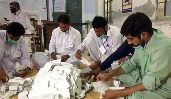 پی پی 84 خوشاب: پولنگ ختم، ووٹوں کی گنتی جاری