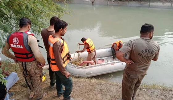 فیصل آباد؛ 4 بچوں کو نہر میں پھینکنے والے ملزم کے بھائی کا بیان
