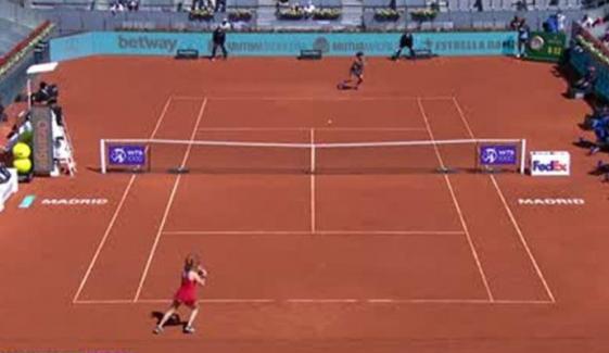 میڈرڈ اوپن ٹینس: ویمنز سنگلز میں ایشلے بارٹی، پاؤلہ بڈوسا سیمی فائنل میں