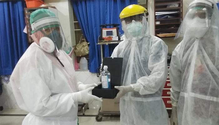 ایئرپورٹ کے قریب بنائے گئے قرنطینہ سینٹرسےکورو نا کا مریض فرار،ذرائع