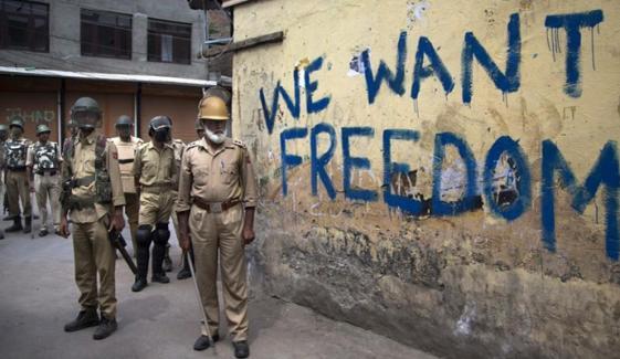 قابض بھارتی فوج کے ہاتھوں مزید 3 کشمیری شہید