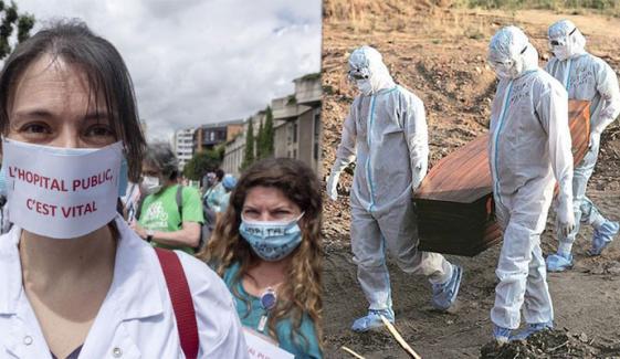 دنیا: کورونا وائرس سے اموات ساڑھے 32 لاکھ سے بڑھ گئیں