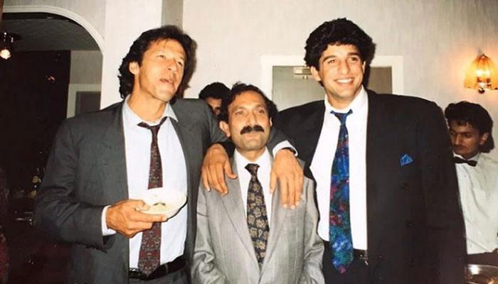 عمران خان کی 'اولڈ ٹائم فوٹوز' سے ایک سُنہری یاد