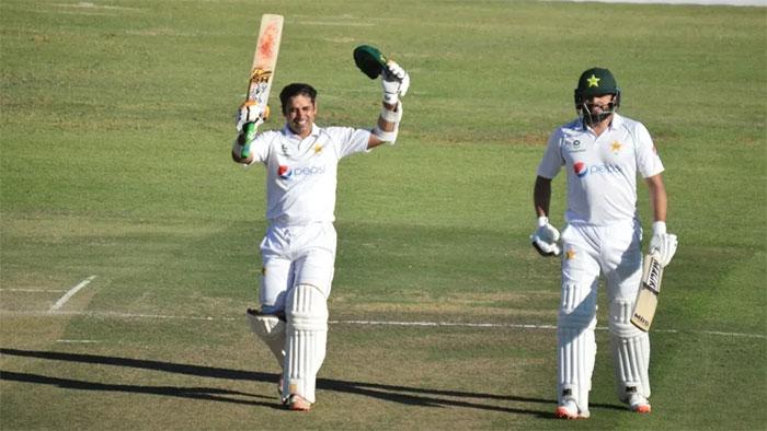 پاکستان بمقابلہ  دوسرے ٹیسٹ کے پہلے روزکا کھیل ختم