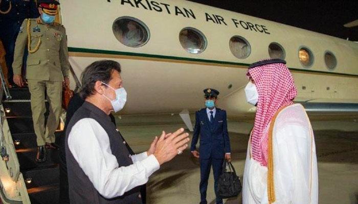 وزیراعظم 3 روزہ دورے پر سعودی عرب پہنچ گئے
