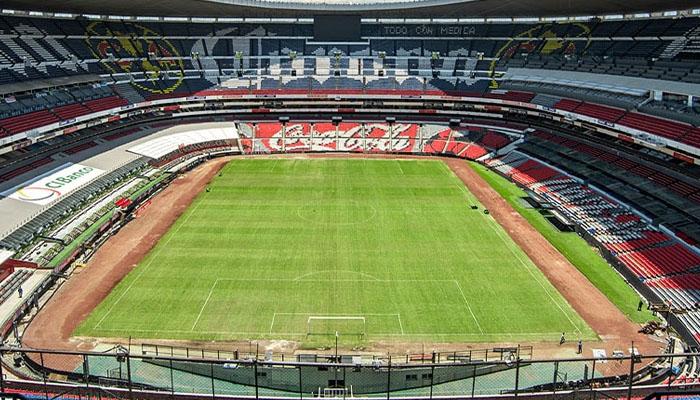 میکسیکو ، فیفاایزٹیکا اسٹیڈیم کو دوبارہ کھول دیاگیا