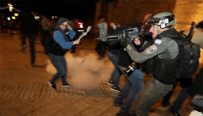 فلسطینیوں پر اسرائیلی مظالم کے خلاف غزہ میں احتجاج، عرب لیگ کا ہنگامی اجلاس کل طلب