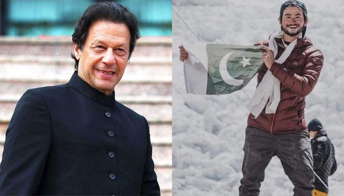 عمران خان کیجانب سے کوہِ پیما شہروز کاشف کو مبارکباد