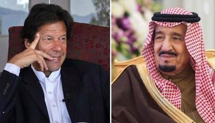 وزیراعظم اور سعودی بادشاہ کے درمیان ٹیلی فونک رابطہ