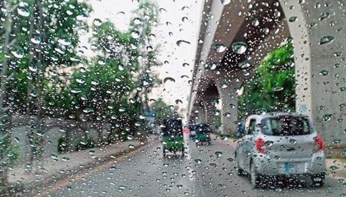 ملک کے مختلف شہروں میں بارش