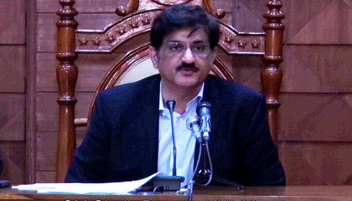 وزیرِاعلیٰ سندھ کی عوام کو عید کی مبارک باد
